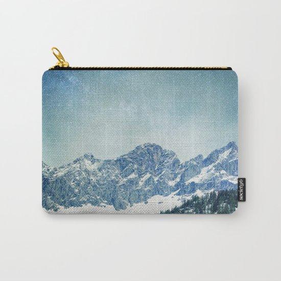 Snow Mountain V3 #society6 #buyart #decor Carry-All Pouch