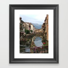 The Venice of France Framed Art Print
