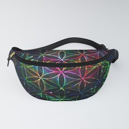 Flower of Life in the Universe - Universe in the Flower of Life Fanny Pack