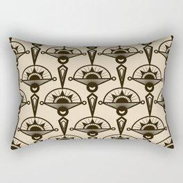 Seamless antique pattern art deco stylish print Rectangular Pillow