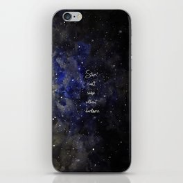 stars cant shine without darkness iPhone Skin