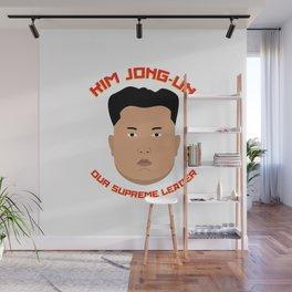 Kim Jong-Un Wall Mural