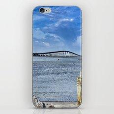 Bridge to sand and sea iPhone & iPod Skin