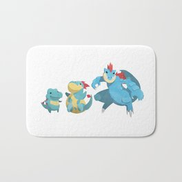 Watery Family #2 Bath Mat