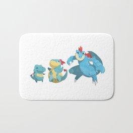 Watery Family #2 Bath Mat