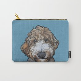 Seamus the Labradoodle Carry-All Pouch