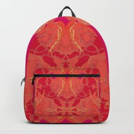 Red horses Backpack