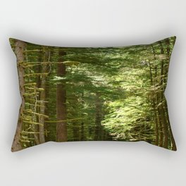 On A Road To The Rainforest Rectangular Pillow