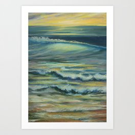 Mark Movement Ocean Swell Art Print