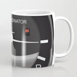 Turn Coordinator Flight Instruments Coffee Mug