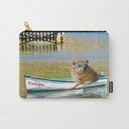 Rudolph at Sea Carry-All Pouch