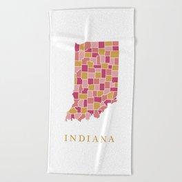 Indiana Beach Towels | Society6