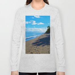 Point Pelee National Park Trails in  Leamington, Ontario, Canada Long Sleeve T-shirt