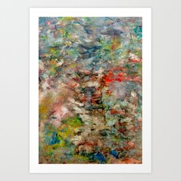 heartbeat in color Art Print