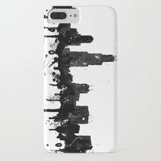 Watercolor Chicago Skyline iPhone 7 Plus Slim Case