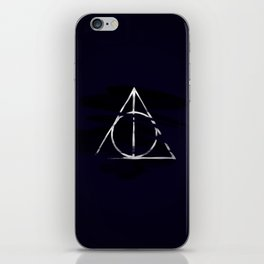 The Deathly Hallows iPhone Skin