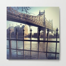 Good Morning East River Metal Print