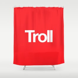 Troll Shower Curtain