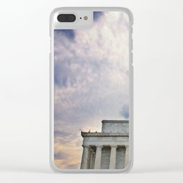 Dramatic Background Clear iPhone Case