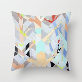 Chemical Affinity Throw Pillow