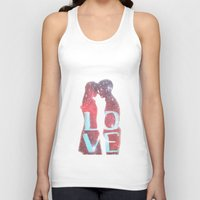 lovers Tank Tops featuring Lovers by EclipseLio