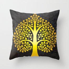 Bodhi Tree0103 Throw Pillow