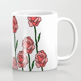 Paper Roses Coffee Mug