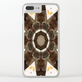 Edge of Desire Clear iPhone Case