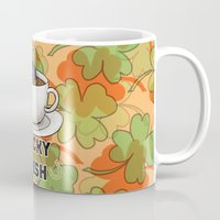 irish Mugs featuring Irish Luck by girlwiththetea