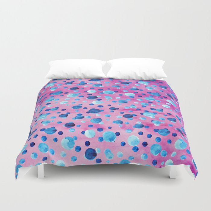 Polka Dot Pattern 06 Duvet Cover