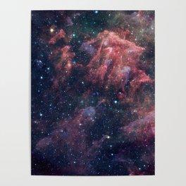 Nebula and Stars Poster
