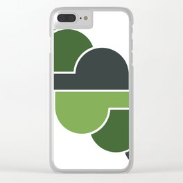 Olive Skies Clear iPhone Case