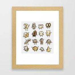 I Love Bread Framed Art Print