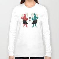 guardians Long Sleeve T-shirts featuring Nio Guardians by taichi_k
