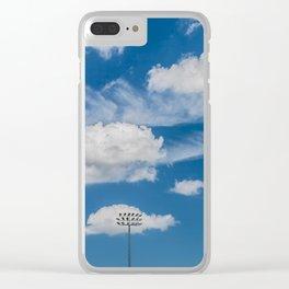 Ballpark Sky Clear iPhone Case