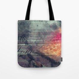Flaming Leaf Tote Bag