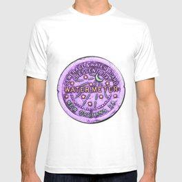 New Orleans Mardi Gras NOLA Water Meter T-shirt