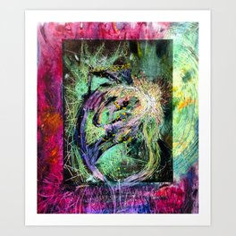 MakingLove Art Print
