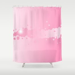 Abstract Pink Background Shower Curtain
