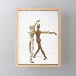 Dancers Framed Mini Art Print