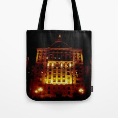 Night Crest 1 Tote Bag