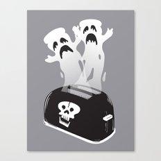 Ghost Toast Canvas Print