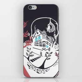Round Tree House iPhone Skin