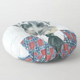 Schnauzer Mc Doogall Floor Pillow