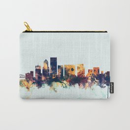 Portland Oregon Skyline Carry-All Pouch