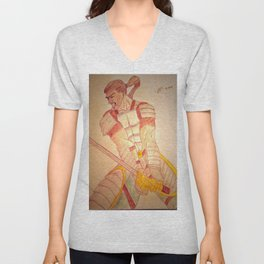 Warrior Enraged Unisex V-Neck