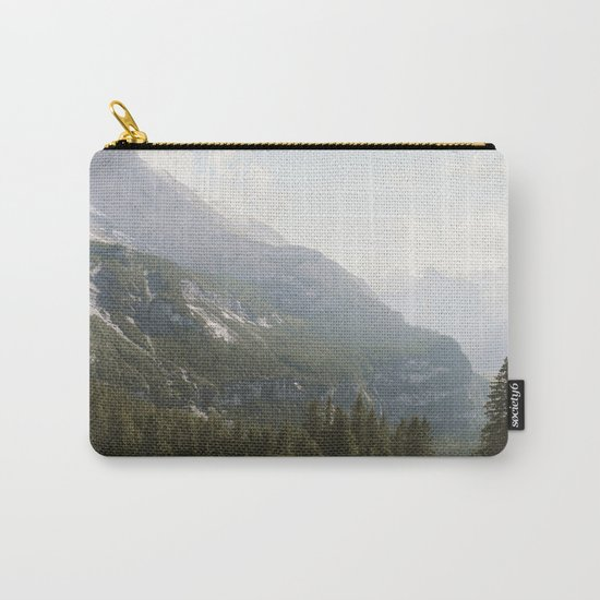 A Switzerland Mountain Valley - Landscape Photography Carry-All Pouch