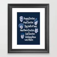 Angry Doctor Framed Art Print