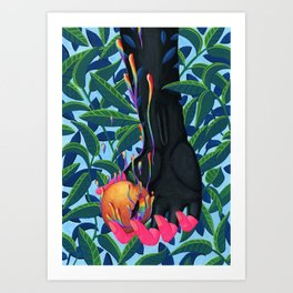 Colours of Life Art Print