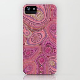 Mineralicious-Pink Agate iPhone Case